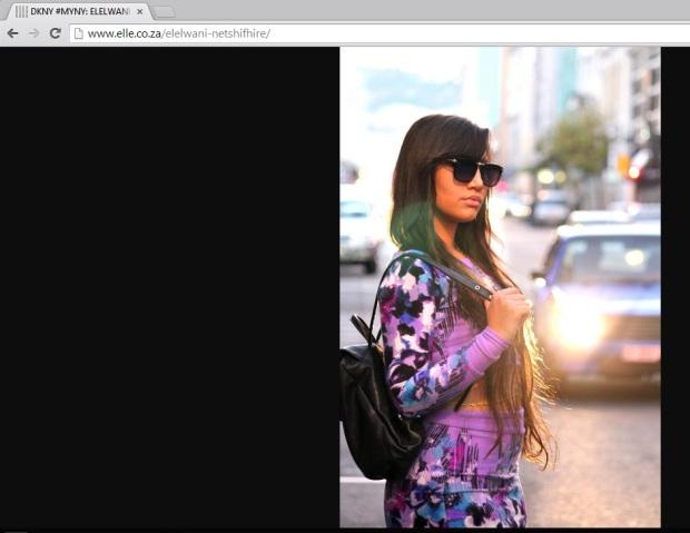 elle magazine fashionista ct lauren campbell