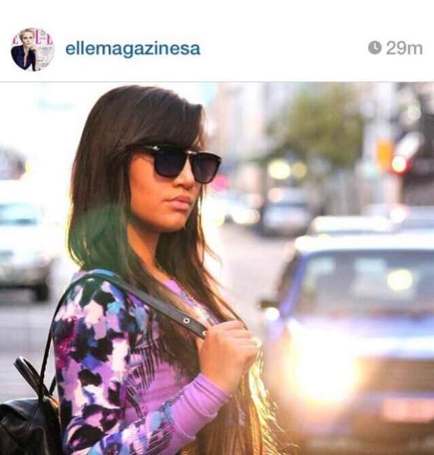 fashionista ct lauren campbell Elle magazine Sout african fashion blogger